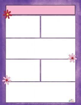 Flowers/Spring Newsletter For Word