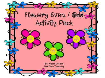 Flowery Even and Odd pack