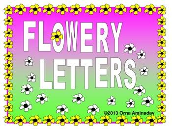 Flowery Letters