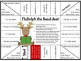 FluDolph the Read-deer A Christmas Fluency Game