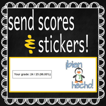 Flubaroo Spanish Sticker Set {FREEBIE}