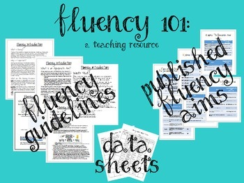 Fluency 101: A resource guide for Autism and Special Education Teachers