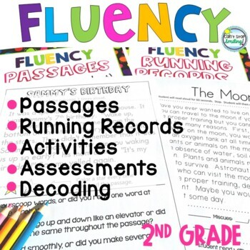 Reading Fluency 2nd Grade and 3rd Grade ~ Fluency Reading Passages