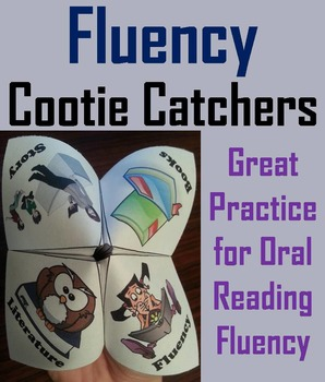 Fluency and Comprehension Activity 6th 5th 4th 3rd Grade R