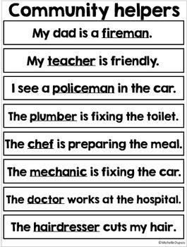 Fluency strips for reading