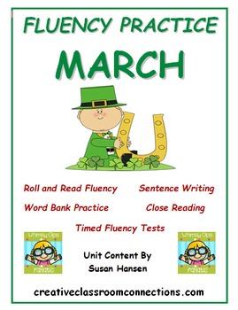 Fluency Activities: March