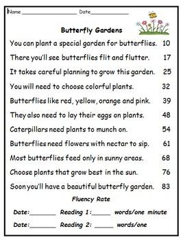 Fluency Activities: May