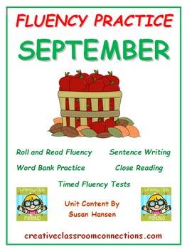 Fluency Activities: September