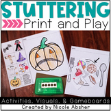 Stuttering Activities for Speech Therapy