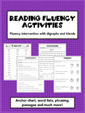 Fluency Activities to Apply Phonics Skills: Digraphs and Blends