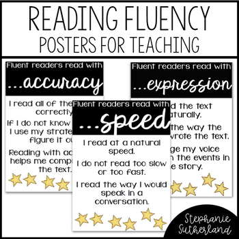 Fluency Anchor Charts (FREE)
