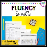 Fluency Assessment Tests and Progress Monitoring Bundle