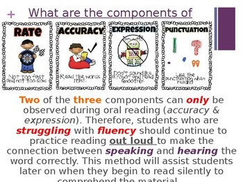 Fluency Assessment Summary