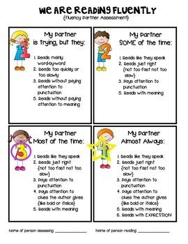 Fluency Self-Assessment for Students