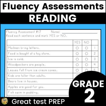 Fluency Assessments - Great for Test Prep!