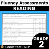 Fluency Assessments - Great for Test Prep! TN TCAP Practice!