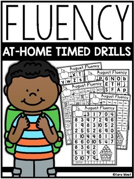 Fluency At-Home Timed Drills (for the year)