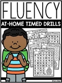 Kindergarten Fluency At-Home Timed Drills (for the year)