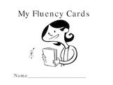 Fluency Awareness Cards