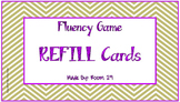 Fluency Board Game Refill Pack