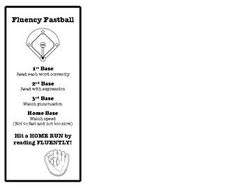 Fluency Bookmark