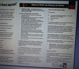 Fluency Brochure to send home to parents