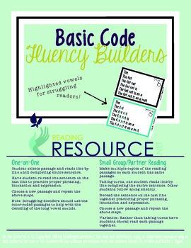 Fluency Builders (Basic Code)