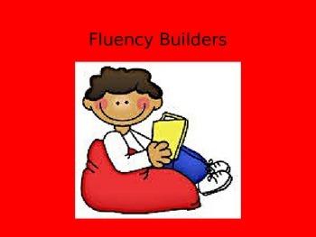 Fluency Builders PowerPoint