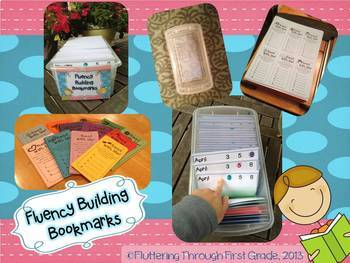 Fluency Building Bookmarks & Comprehension Cards
