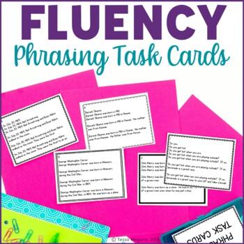 Fluency Task Cards for Phrasing
