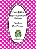 Fluency Building with High Frequency Words Sentences First Grade