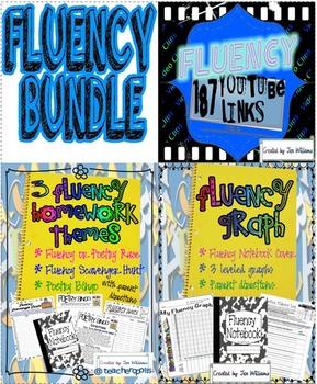Fluency Bundle- Leveled Fluency Graphs, Homework Practice, and Video Links