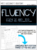 Fluency Bundle for Math, Language Arts, and American Sign Language