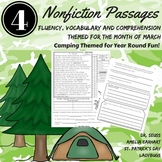 Reading Comprehension Passages and Questions MARCH