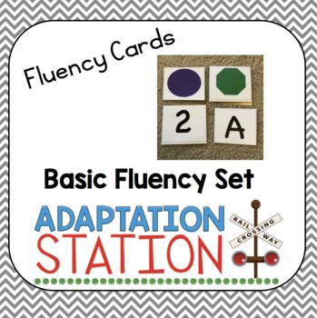 Fluency Cards: Basic Skills Freebie Set