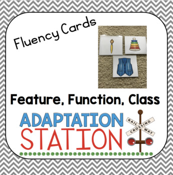 Fluency Cards: Feature, Function and Class