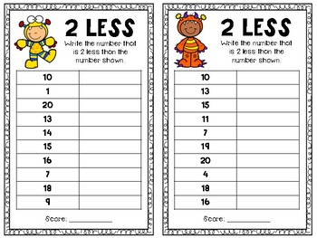 Fluency Cards - Numbers 0-120
