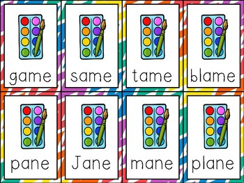 Fluency Cards {long a vowel patterns}