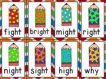 Fluency Cards {long i vowel patterns 1}