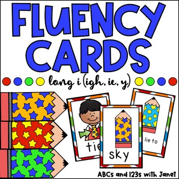 Fluency Cards {long i words}