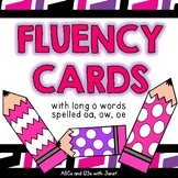 Fluency Cards {long o vowel patterns}