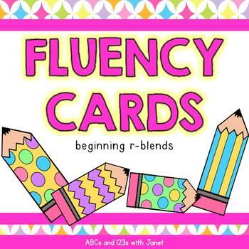 Fluency Cards {r blends}
