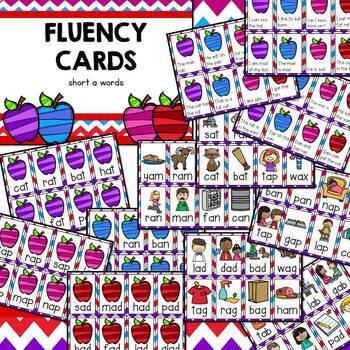 Fluency Cards {short a words}