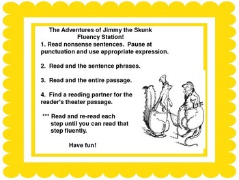 Fluency Center: Jimmy the Skunk