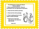 Fluency Center: Jimmy the Skunk