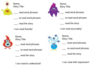 Fluency Center:  Little Monsters