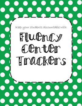 Fluency Center Tracker