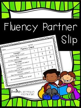 Fluency Check Slip