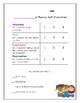 Fluency Checklist (Partner Evaluation and Self-Evaluation)