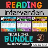 Fluency & Comprehension Reading Intervention Bundle for Grades 1-3